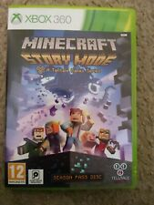 ***EMPTY BOX Minecraft Story Mode Xbox 360 Empty box No manual or game disc