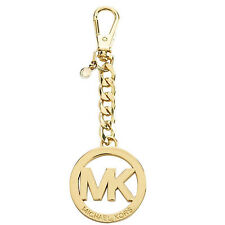 FREE TOP Letter M@K Logo New Gold Tone Chain Bag Charm Key Fob wholesale $28.00