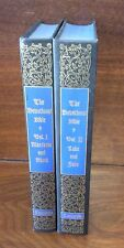 THE DEVOTIONAL BIBLE The Gospels in 2 Volumes Concordia Publishing 1963 HC