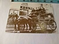 Old Kintyre The Campbeltown Courier The Last Horse Drawn Mail Coach Postcard