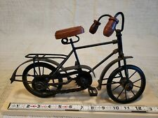 """Vintage Bicycle Metal Decor Working Moving Chain Pedals Wheels 13"""" by 8"""""""