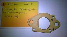 832541 Original Opel Dichtung für Drosselklappenteil an Schwimmerghäuse KadettC