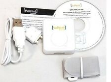 (New) VuPoint Small GPS Tracker, Receiver and Logger with BOTH Bluetooth and USB