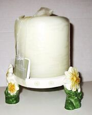 Sonoma Ceramic Daisy Candle Holder with Candle from Kohl's Department Stores