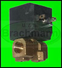 """Magnetventil 1/4"""", 230V Messing, Gasventil, Druckluftventil, 34"""