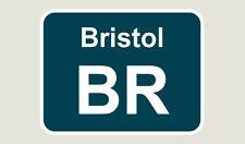 1x Bristol Train Depot Sticker/Decal 100 x 77mm