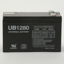UPG 12V 8Ah F2 Battery for APC Back-UPS 500, BK500EI, BK500M, BK500MC UPS