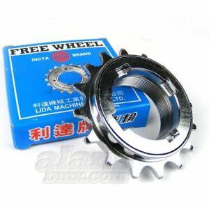 "Dicta Chrome 1/8"" BMX Freewheel 16T 17T 18T"