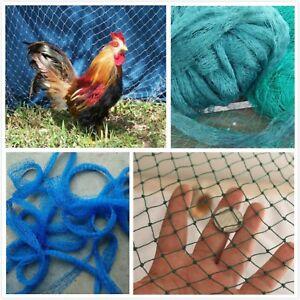 Chicken Coop Net Nylon Mesh Anti Bird Mist Protect Breeding Control Climbing Net