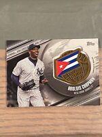 2020 Topps Series 1 AROLDIS CHAPMAN Global Game New York Yankees Cuba Black /149
