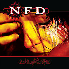 "NFD 'Got Left Behind'/'Keep A Light Shining' 7"" single limited red goth vinyl"