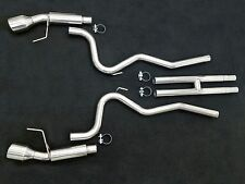 SSS Terminator Cat-Back Stainless Exhaust H Pipe System 2015-2017 Mustang V8