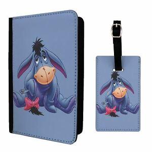 Luggage Tag &/OR Passport Holder Winnie The Pooh Eeyore - G1320