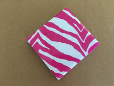 Gorgeous Compact Mirror Small In Pink Animal Print *UK Seller*