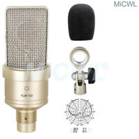 TLM102 Cardioid Condenser Microphone for Network PC Stage Sing Large Diaphragm