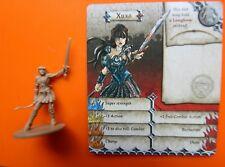 Xuxa Zombicide games boardgame  figure black plague warrior princess Xena