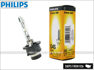 D4S - PHILIPS OEM 4300K Factory HID headlight bulb 42402 for TOYOTA HONDA LEXUS