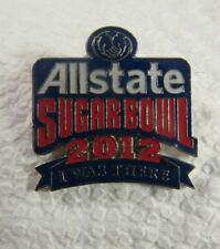 """ALLSTATE SUGARBOWL 2012 I WAS THERE NCAA PIN 1"""" X 1"""""""