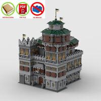 LEGO MOC | PDF Instructions (NO BRICKS) - Winterfell Main Castle