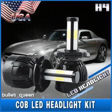 H4 9003 4-Sides COB LED Headlight Kit Hi/Lo Beam for Ford Foucs Escape 2001-2004