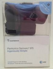 Plantronics Discovery 975 Black In-Ear Only Headsets New