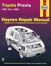 Toyota Previa Repair Manual 1991-1995