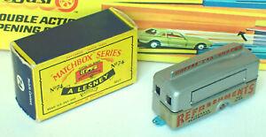 Matchbox 74a Mobile Canteen Very Near Mint in Near Mint Box