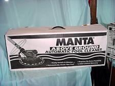 Zodiac Automatic Manta Barracuda AboveGround Pool Vacuum Cleaner Manual