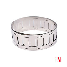 1m 0.15*27MM Ni plate nickel strip tape for 18650 Li-Ion battery spot welding TP