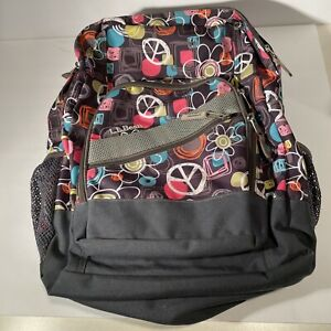 LL Bean Deluxe Backpack Book Bag Pack Every Day Carry, 3 Compartment.