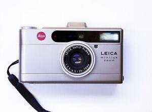 Leica Minilux Zoom Vario Elmar Lens - Excellent Condition w/ Case - Film Tested