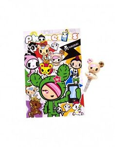Tokidoki Phonezies Series PVC Phone Jack Figure ~ One Random Blind Bag TK7600
