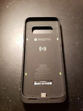 mophie - Juice Pack External Battery Case for Samsung Galaxy S8 - Black