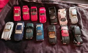 Konvolut Modelautos 1:24, 14X, Bastler, Ersatzteile, KELLERFUND,