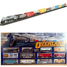 Bachmann 00614 Overland Limited Electric Train Set w/ E-Z Track HO Scale