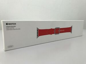 Apple Watch 42MM / 44MM Classic Buckle Red Band