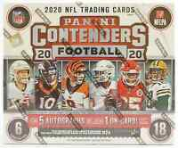 2020 PANINI CONTENDERS FOOTBALL HOBBY BOX - NEW AND SEALED FREE PRIORITY SHIP