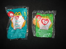 Beanie Babies - Freckles 1999 & Twigs 1998 - All Mint in Package