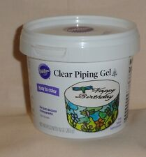 Piping Gel, 10 Ounce Tub,Clear, Wilton,704-105,Ingredient,Certified Kosher