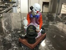 Fine Porcelain Clown Magician figurine by The Toscany Collection
