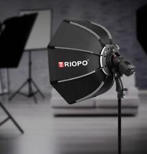 90cm Outdoor Speedlite Octagon Softbox w Tripod Light Stand Portrait Photography