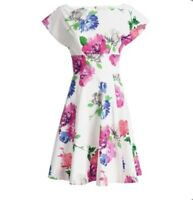 Kate Spade Blooms Fit & Flare Dress.
