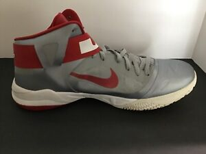 Men's Nike Zoom Soldier VI TB LeBron James Basketball Shoes 525017-003  Size 18