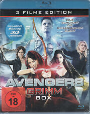 AVENGERS GRIMM BOX - 3D / 2D Blu-Ray Disc - Double Feature..