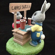 Tender Touches Little Joys Make A Big Day Rabbits Figurine in Original Box