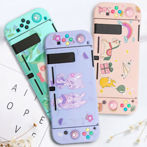 Kawaii Bear Pink Soft Case Cover for Nintendo Switch Console Jon-Cons
