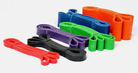 Resistance Loop Band Fitness Exercise & Strength, Fitness, Heavy Duty 100% Latex