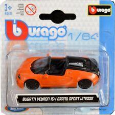 BUGATTI VEYRON VITESSE 1:64 Car Model Metal Diecast Models Cars Die Cast