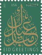 2013 46c EID Greetings, Forever Scott 4800 Mint F/VF NH