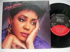 "7"" VINYL SINGLE. Giving You The Best That I Got b/w Good Enough by Anita Baker."